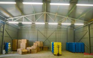 Hala na skladování zboží – Rimavská Sobota