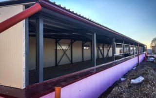Přístavba skladových prostorů – Nemčice, Topoľčany