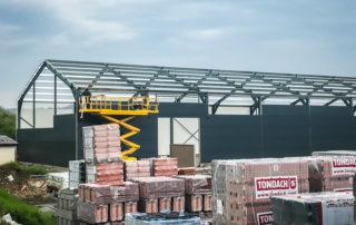 Prodejní a skladovací hala – Rimavská Sobota