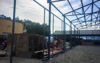 Sklad na stavební stroje – Košťany nad Turcom, Martin