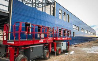 Výzkumně-vývojová opravárenská dílna s administrativní částí – Ožďany, Rimavská Sobota